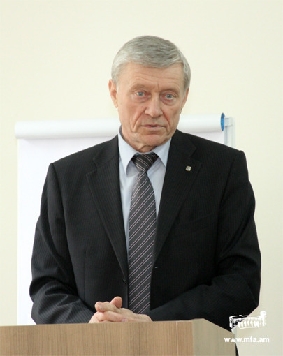 Lecture of Nikolay Bordyuzha, CSTO Secretary General at the DS
