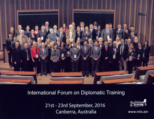 International Forum on Diplomatic Training 2016
