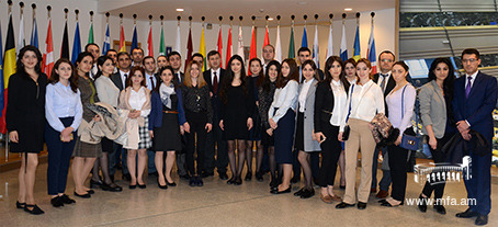 DS students' study visit to Brussels and Vienna