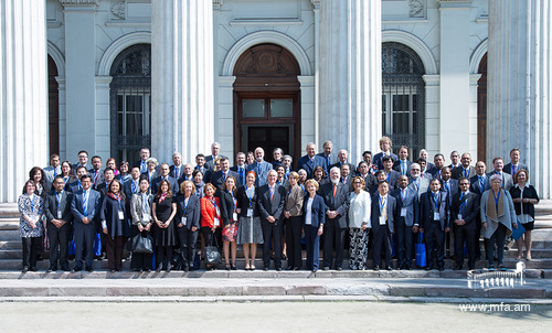 Official photo of the IFDT participants in Chile, 2017