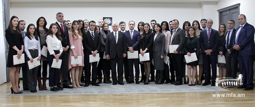 """International relations and Diplomacy"" 2016-17 programme Graduation Ceremony"