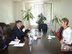 Meeting with the Ambassador of Bulgaria in Armenia