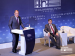 Foreign Minister of the RF Sergey Lavrov's lecture at the event organized by the Diplomatic School in Matenadaran