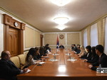 Mid-career trainees met with the President of the Republic of Artsakh B. Sahakyan