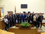 Mid-career trainees at the National Assembly of the Republic of Artsakh