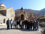 Mid-career trainees at the Dadivank monastery