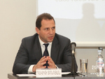 Davit Tonoyan at the Diplomatic School