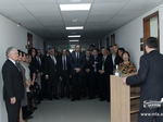 Opening of a language laboratory at the Diplomatic School