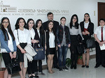 Students of Eurasia College visit the Diplomatic School