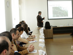 Ambassador of the Swiss Confederation Lukas Gasser at the Diplomatic School of Armenia
