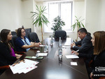 Meeting with the Delegation of Riga Graduate School of Law